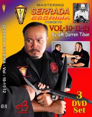 MASTERING SERRADA ESCRIMA Vol-10-11-12