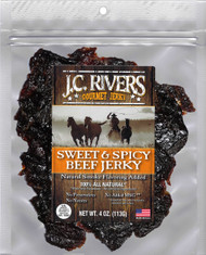 SWEET & SPICY BEEF JERKY - 100% All Natural