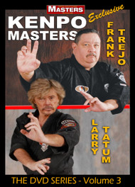 KENPO MASTERS Vol-3 with with Frank Trejo and Larry Tatum