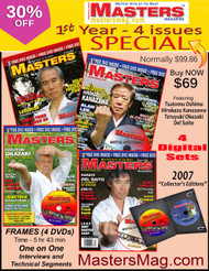 MASTERS Magazine - 2007 - 1st Year 4 Issues (Digital) SPECIAL 30% OFF