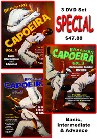 CAPOEIRA VOL-1-2-3 DVD Set SPECIAL