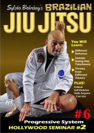 Sylvio Behring Brazilian Jiu Jitsu Progressive System Volume 6