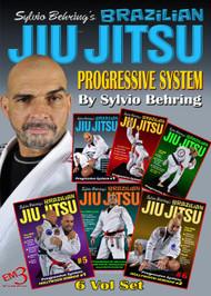 Universal Brazilian Jiu Jitsu By Master Rodrigo Antunes 4 Volume Set