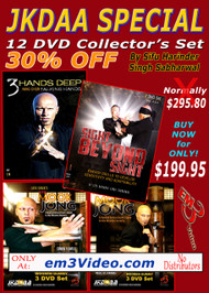 JKDAA 12 DVD Set SPECIAL - 30% Discount