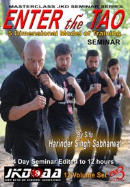 ENTER the TAO 2018 TX Seminar (12 DVD Set)  By Sifu Harinder Singh Sabharwl