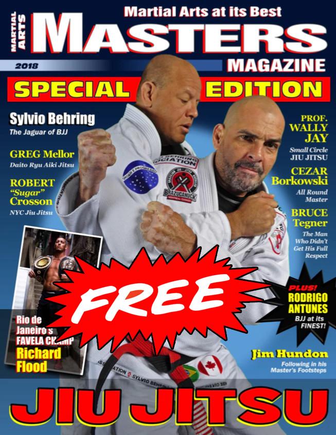 Jiu Jitsu 2018 FREE Issue of SPECIAL EDITION of MASTERS Magazine