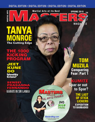 2019 SPRING Issue of MASTERS Magazine & FRAMES Video (Collector's Edition DVD/CD Set)