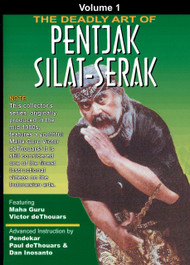 PENTJAK SILAT SERAK (DVD Vol-1) INDONESIAN MARTIAL ARTS