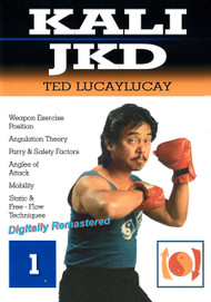 TED LUCAYLUCAY KALI ESCRIMA JEET KUNE DO (DVD Vol-1) ANGLES ATTACK WEAPONS