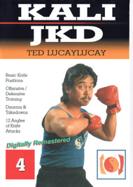 TED LUCAYLUCAY Kali Escrima / Jeet Kune Do (DVD Vol-4)