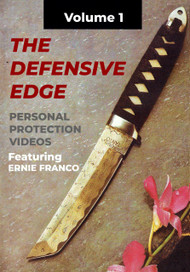 ERNIE FRANCO FILIPINO MARTIAL ARTS DEFENSIVE EDGE KNIFE FIGHTING TACTICS (Vol-1)