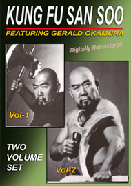 Chinese Kung Fu San Soo 2 Volume Instruction SET by Gerald Okamura