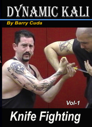 BARRY CUDA DYNAMIC KALI (Vol-1) KNIFE FIGHTING DVD JEET KUNE DO FILIPINO ESCRIMA ARNIS