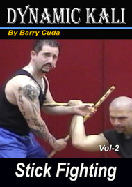 FILIPINO MARTIAL ARTS KALI (Vol-2) STICK FIGHTING DVD BARRY CUDA ESCRIMA ARNIS MMA