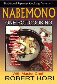 TRADITIONAL JAPANESE ONE POT COOKING NABEMONO how to do DVD YOSENABE Vol-1