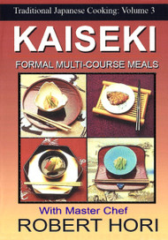 TRADITIONAL JAPANESE COOKING FORMAL DISHES KAISEKI DVD CHEF ROBERT HORI RECIPES Vol-3