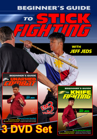 Beginner's Guide To Unarmed Combat Vol-1-2-3 DVD Set By Jeff Jedds