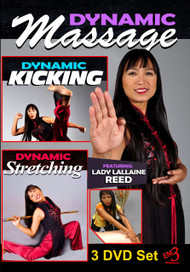Dynamic Stretching, Kicking & Massage 3 Volume Set