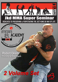 JKD MMA Super Seminar by Robert Okami (2 Volume set)