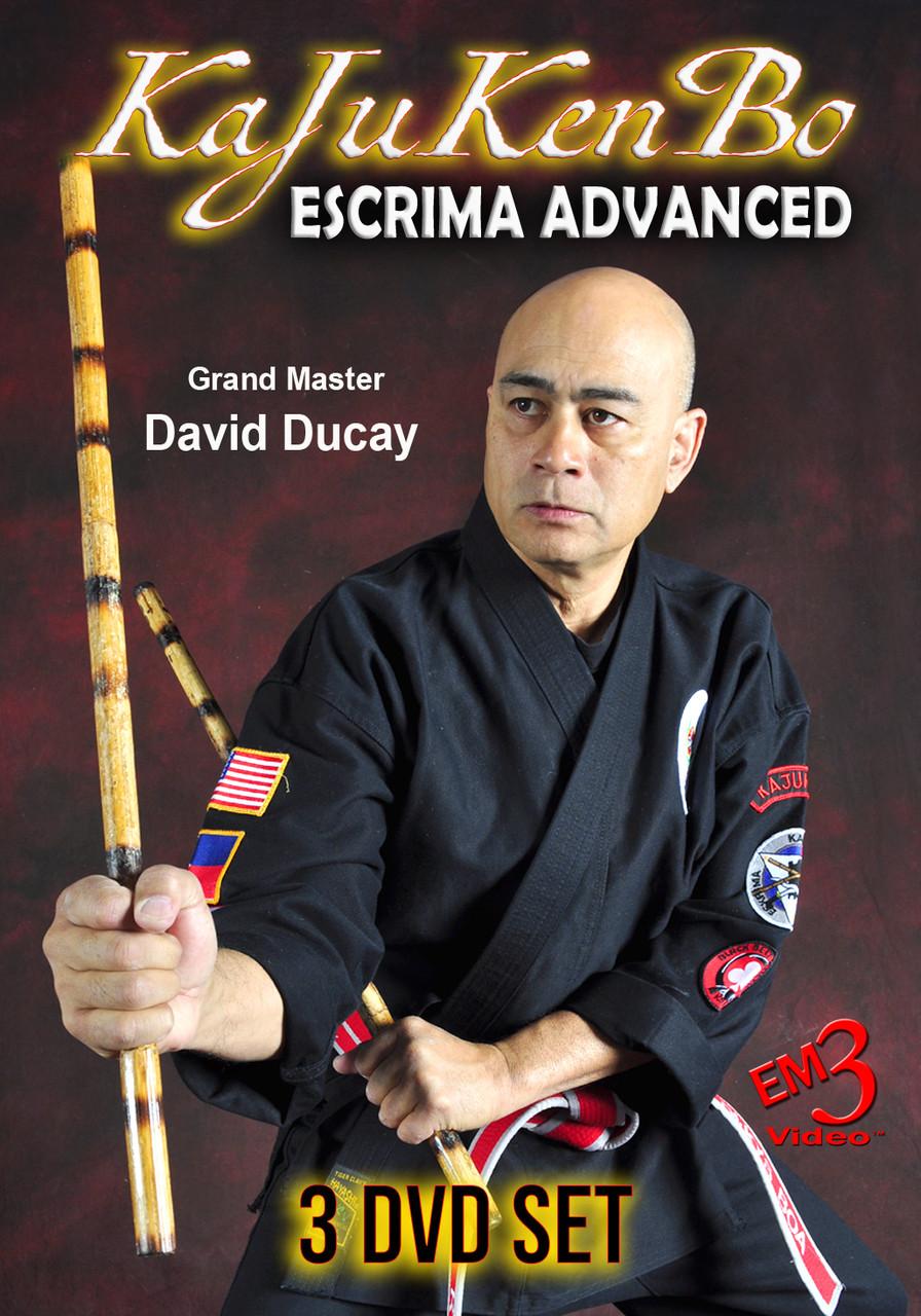 KaJuKenBo Escrima Advanced 3 Volume Set by GM David Ducay