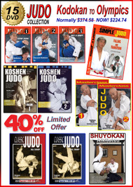 15 DVD Box - JUDO Special 40% OFF - KODOKAN to OLYMPICS