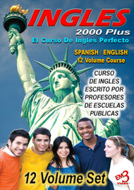 Ingles 2000 Plus -English/Spanish video course