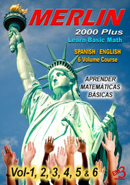 MERLIN  2000 Plus -Basic Math video course (in English and Spanish)