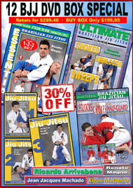 Brazilian Jiu-jitsu 12 DVD Box 30% OFF