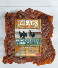 TURKEY BLACK PEPPER Jerky - 100% All Natural