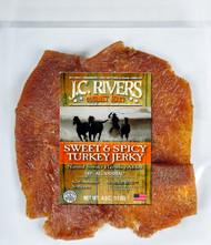 TURKEY SWEET & SPICY Jerky - 100% All Natural