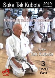 TAK KUBOTA 2019 Seminar - Kata, Kumite & Kubotan