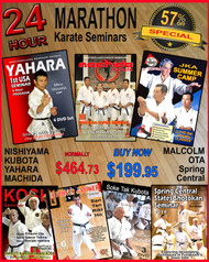 24 Hour MARATHON Karate Seminars - 57% OFF