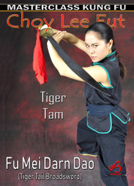 Vol-2 FU MEI DARN DAO  (Techniques of Tiger Tail Broadsword)  Choy Lee Fut Kung Fu set