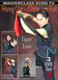 Tiger Tam Vol-1-2-3  Set -SAM YIN KUEN - MUI FA SUP SAM CHEUNG - MUI FA SUP SAM CHEUNG