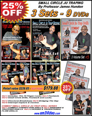 SMALL CIRCLE JU TRAP BOXING - 3 Sets - 9 DVD (Vol-1-9) SPECIAL 25% OFF