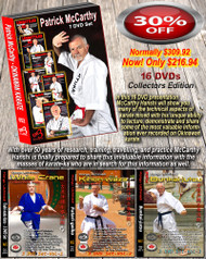 Patrick McCarthy (Hanshi) 16 DVD Set Bundle 30% OFF SPECIAL