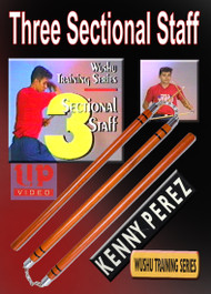 WUSHU Three Sectional Staff -  By Kenny Perez