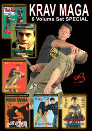 Krav Maga 6 DVD Set Special (Normally $119.70 Buy Now! $99.95)