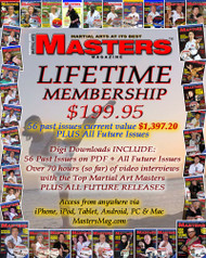LIFETIME MEMBERSHIP -Martial Arts Masters Magazine (CLICK on link provided in the Description)