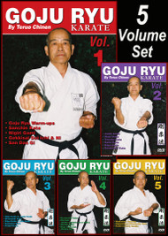 GOJU RYU KARATE Vol-1-5 Set By Teruo Chinen (Link BELOW in description)