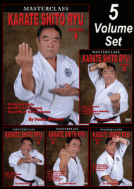 SHITO RYU KARATE Vol-1, 2, 3, 4 & 5 SET by Fumio Demura (Link BELOW in description)