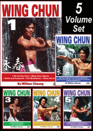 WING CHUN KUNG FU Vol-1, 2, 3, 4 & 5 SET by William Cheung (Link BELOW in description)