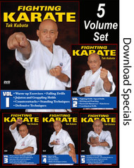FIGHTING KARATE Vol-1-5 SET by Tak Kubota (Download) - (Link BELOW in description)