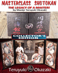 LEGACY of a MASTER - 6 DVD Set - By Teruyuki Okazaki - COLLECTOR'S EDITION (Limited Supply)