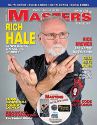 2020 WINTER Issue of MASTERS Magazine (132 pages PDF) & FRAMES Video (90 min) CURRENT ISSUE