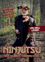 NINJUTSU SECRETS 1422 (Vol-3 Shuriken - Throwing Stars) By An-shu STEPHEN K. HAYES