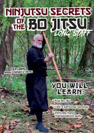 NINJUTSU SECRETS 1424 (Vol-5 Ninjutsu Secrets of The Bo Jitsu (Long Staff) By An-shu STEPHEN K. HAYES