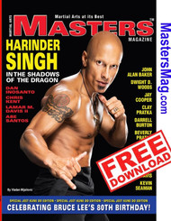 MASTERS Magazine SPECIAL Edition JKD (FREE) Celebrating Bruce Lee's 80th Birthday