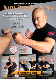 INAYAN SYSTEM OF ESKRIMA Vol-4-5-6 Set - by Suro Jason Inay
