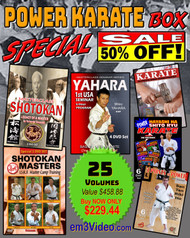 POWER KARATE Box 50%OFF (Special) 25 Volumes
